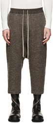 Rick Owens Taupe Knit Lounge Pants