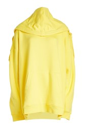 Y Project Oversized Cotton Hoody Yellow