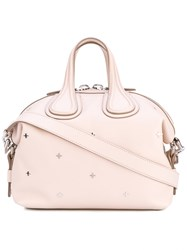 Givenchy Small Nightingale Tote Women Calf Leather Metal Other One Size Pink Purple