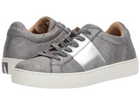 Skechers Side Street Charcoal Silver Women's Lace Up Casual Shoes Gray
