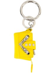 Kenzo 'Kalifornia' Keyring Yellow And Orange