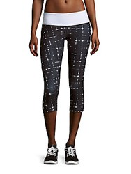 Prismsport Printed Pull On Capri Pants City Light