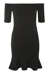 Oh My Love Mini Peplum Dress By Black