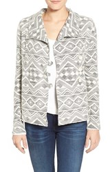 Women's Lucky Brand Aztec Tweed Jacket