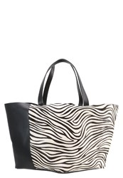 Whistles Java Handbag Black White