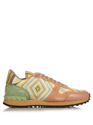 Valentino Native Couture 1975 Print Rockrunner Trainers