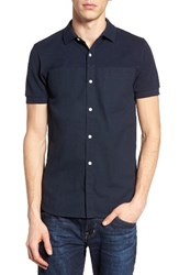 French Connection Men's Hybrid Polo Shirt