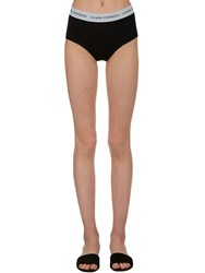 Chiara Ferragni Logo Band Boy Briefs Black