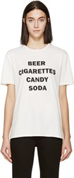 6397 Cream And Black Beer T Shirt