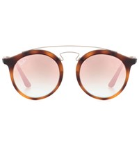Ray Ban Rb4256 Round Sunglasses Brown
