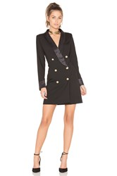 Lioness Palermo Blazer Dress Black