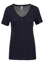 Banana Republic Signature Solids Basic Tshirt Navy Dark Blue
