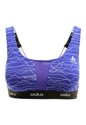 Odlo Sports Bra Spectrum Blue Purple