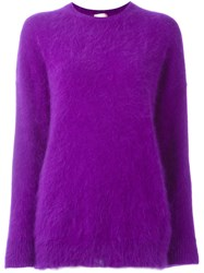 Giamba Soft Jumper Pink And Purple