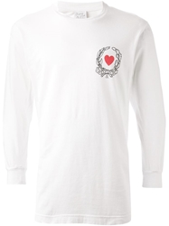 Moschino Cheap And Chic Vintage Laurel Crown Heart Print T Shirt