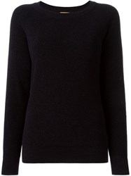 Peter Jensen Metallic Thread Sweater Blue