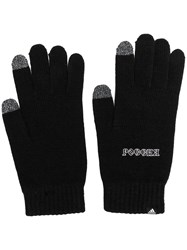 Gosha Rubchinskiy X Adidas Knitted Gloves Black