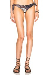 Etoile Isabel Marant Isabel Marant Etoile Sukie Paisley Bikini Bottom In Black Abstract