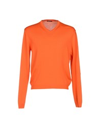 Bramante Knitwear Jumpers Men Orange