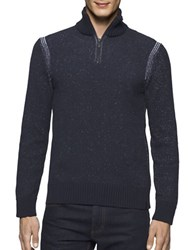 Calvin Klein Jeans Speckle Plated Sweater Classic Navy
