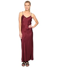 Hard Tail Long Bias Dress Smokey Rose Women's Dress Brown