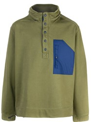 Alex Mill Compact Terry Jumper Green
