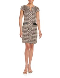 Karl Lagerfeld Tweed Sheath Dress