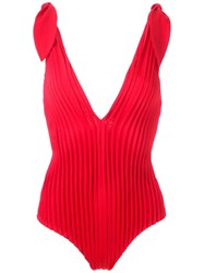 Adriana Degreas Maillot Red