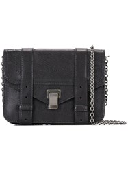 Proenza Schouler Ps1 Satchel Shoulder Bag Black