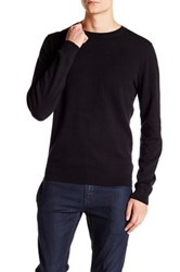 Wallin And Bros Trim Fit Crew Neck Sweater Black