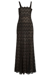 Missoni Lace Knit Strapless Gown