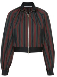 Rosetta Getty Cropped Bomber Jacket Multicolour