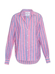 Frank And Eileen Eileen Striped Cotton Shirt