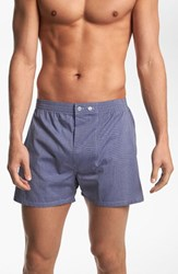 Men's Big And Tall Nordstrom Classic Fit Cotton Boxers Blue Eoe