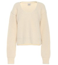 Tod's Wool And Cashmere Sweater Beige