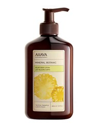 Ahava Mineral Botanic Body Lotion Tropical Pineapple And White Peach 13.5Oz No Color