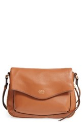 Vince Camuto Dafni Leather Crossbody Brown Whiskey