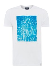 Criminal So Cal Pool Graphic Tshirt White