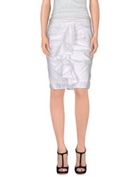 Coast Weber And Ahaus Skirts Knee Length Skirts Women White