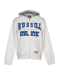 Russell Athletic Sweatshirts White