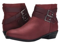 Softwalk Rancho Red Distressed Nubuck Leather Women's Boots