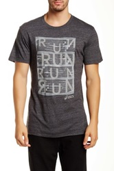 Asics Urban Run Tee Black