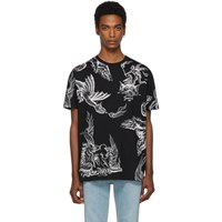 Givenchy Black Icarus Regular Fit T Shirt