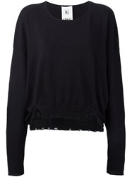 Lost And Found Rooms Crew Neck Sweatshirt Black