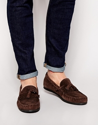 Frank Wright Tassle Loafer Brown