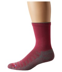 Drymax Sport Hiking Crew 1 Pair Pink Anthracite Crew Cut Socks Shoes