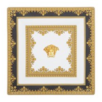 Versace I Love Baroque Decorative Dish Black And White
