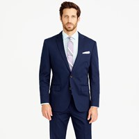 J.Crew Crosby Suit Jacket In Italian Chino Admiral Blue