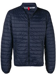 Geox Quilted Jacket Blue