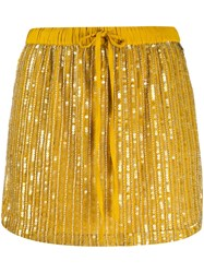 Twin Set All Over Sequin Mini Skirt 60